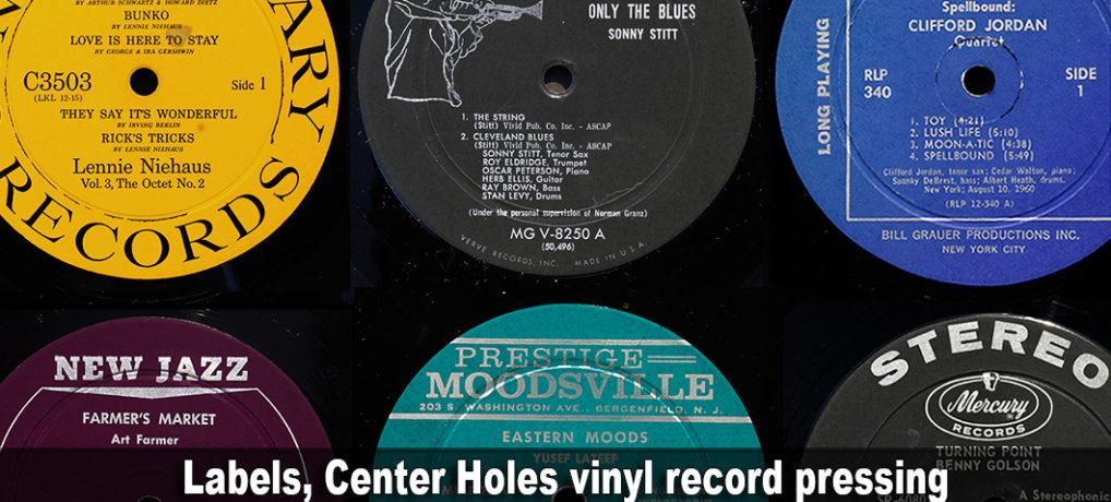 Labels, Center Holes vinyl record pressing