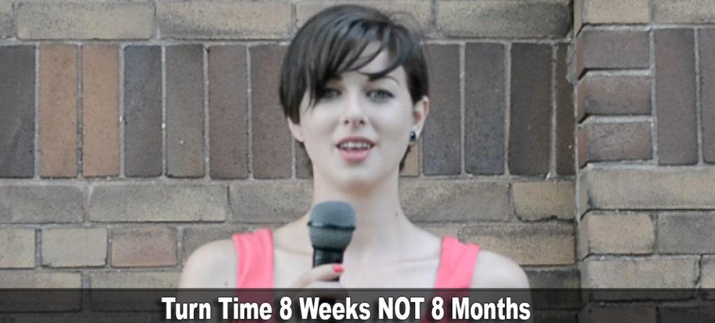 Turnaround Time Record Pressing