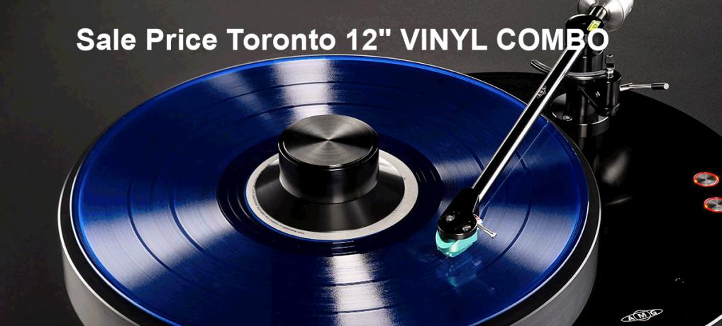 Sale Price Toronto 12″ VINYL COMBO