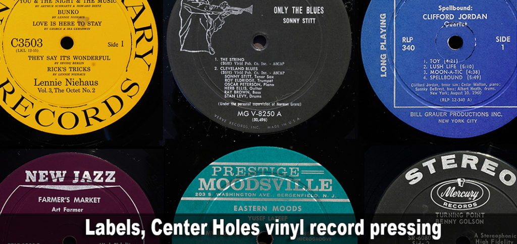 Labels, Center Holes