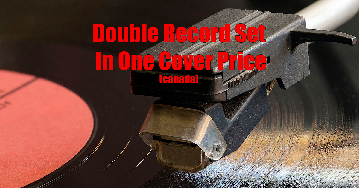Double Record Set In One Cover Price